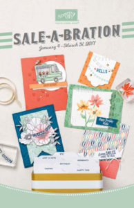 2017 Sale-A-Bration Brochure at WildWestPaperArts.com