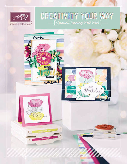 2017-2018 Stampin' Up! Annual Catalog at Wild West Paper Arts