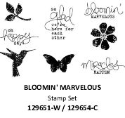#129654 Bloomin' Marvelous Stamp Set [C]