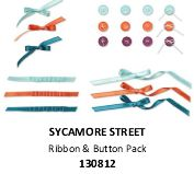 #130812 Sycamore Street Button & Ribbon Pack