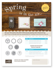 Spring is in the Air PDF Flyer