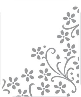 #115964 Elegant Bouquet Embossing Folder