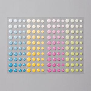 Enamel Glitter Dots 144200 at WildWestPaperArts.com