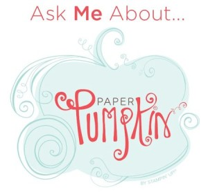 Ask me about Paper Pumpkin