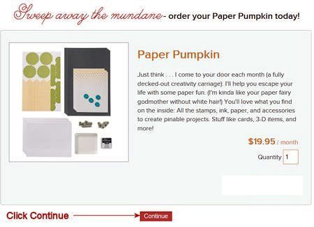 Paper Paper Pumpkin Enter Quantity Screen
