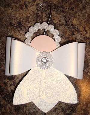 Gift Bow Angel from Pinterest by Beth Tetzlaff