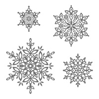 Festive Flurry Clear Mount Stamp Set #131781