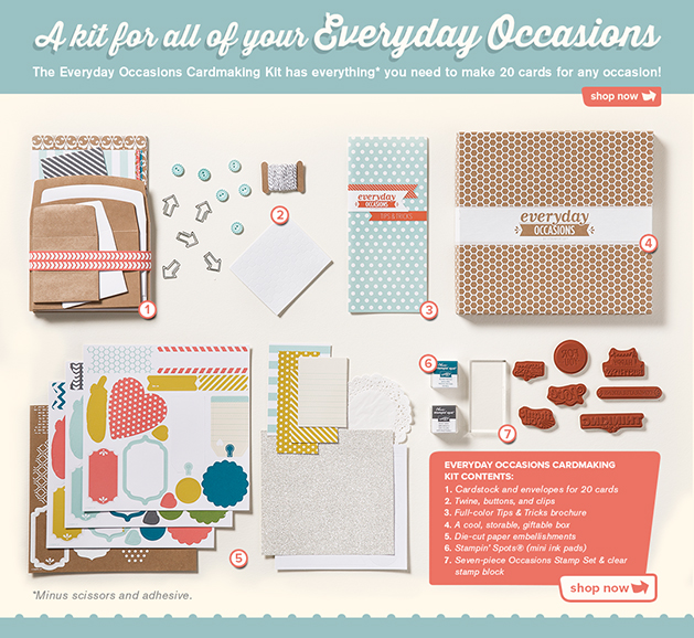 Everyday Occasions Kit #134797