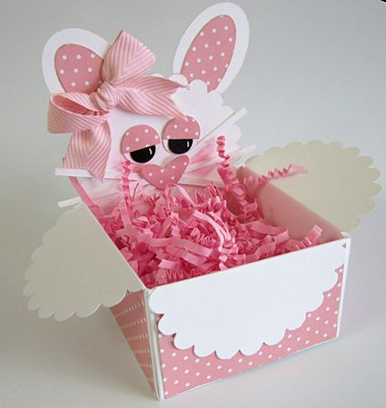 Stamp Camp Bunny Basket