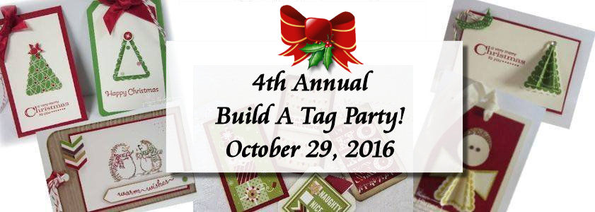 4th Annual Build A Tag Party at WildWestPaperArts.com