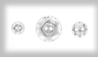 Vintage Faceted Buttons #127555