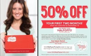 Paper Pumpkin 50% Off Special!