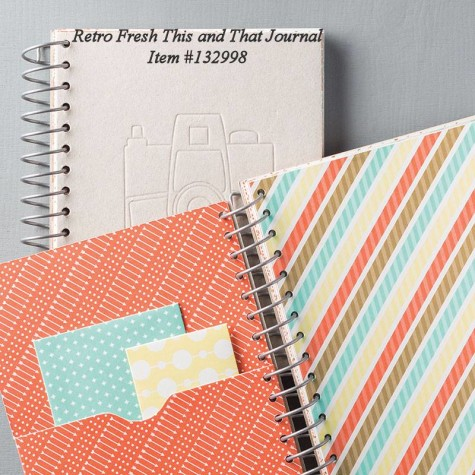 Retro Fresh This & That Journal #132998