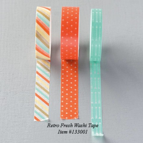 Retro Fresh Washi Tape #133001