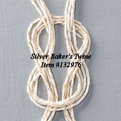 Silver Baker's Twine Item #132976