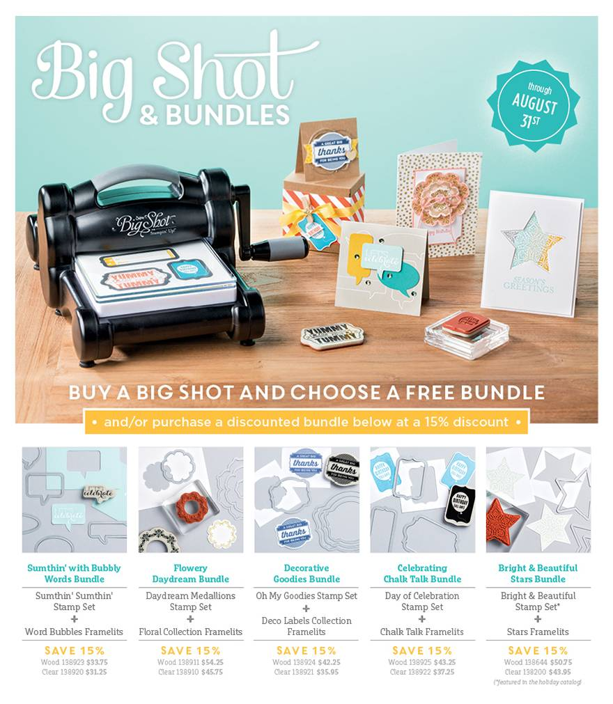 Big Shot Bundle August 2014