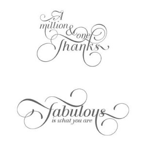 Million & One Clear Mount Stamp Set 126377