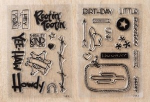 Yeehaw! Polymer Stamp Set #138107
