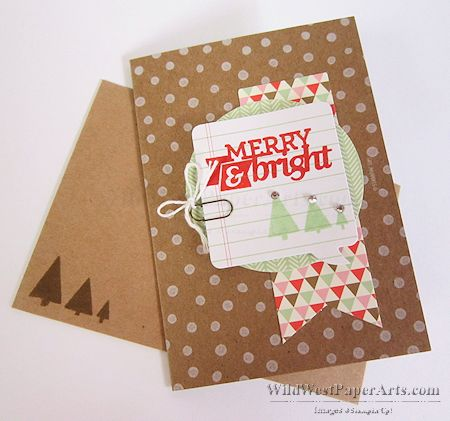 Hip Hip Hooray Kit Christmas Card