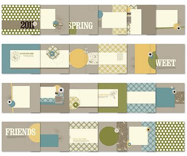 Weekly Deals September 30, 2014 - MDS Sweet Deals Photobook Template #125742 from Stampin Up