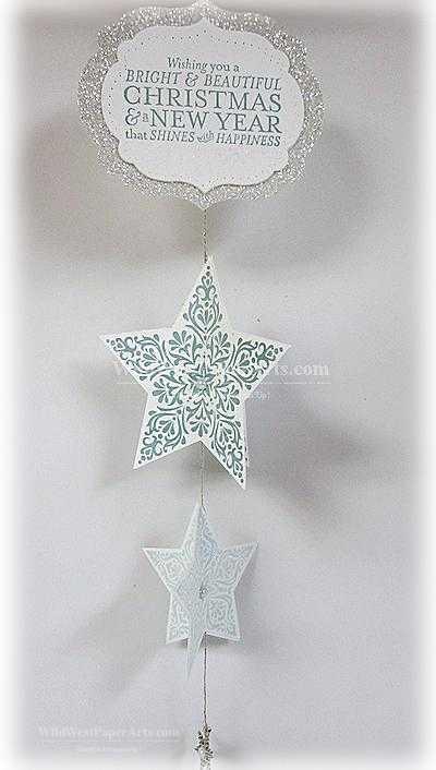 Bright & Beautiful Ornament Wild West Paper Arts