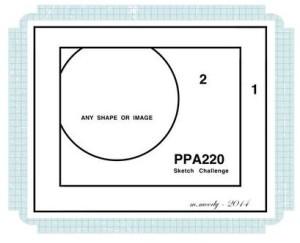 Peace and Joy Flurry Pals Paper Arts Sketch Challenge PPA220