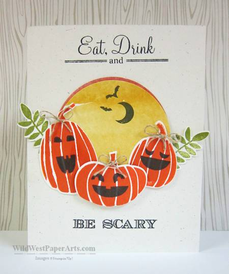 Wild West Paper Arts Eat, Drink and Be Scary