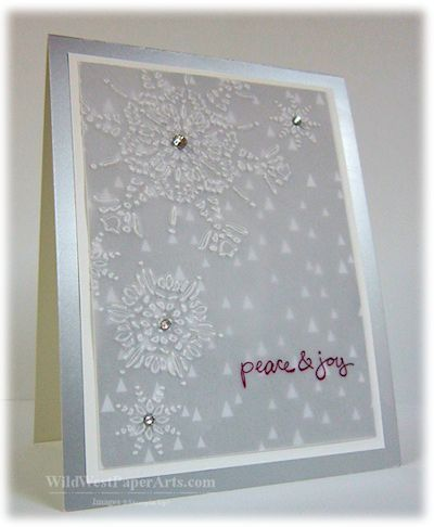 WWPA20140918A Peace and Joy Flurry Wild West Paper Arts