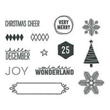 December Wonder Project Life Stamp Brush Set - Digital Download #138088 at Wild West Paper Arts