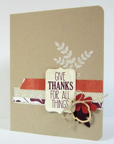 Wild West Paper Arts Give Thanks for All Things