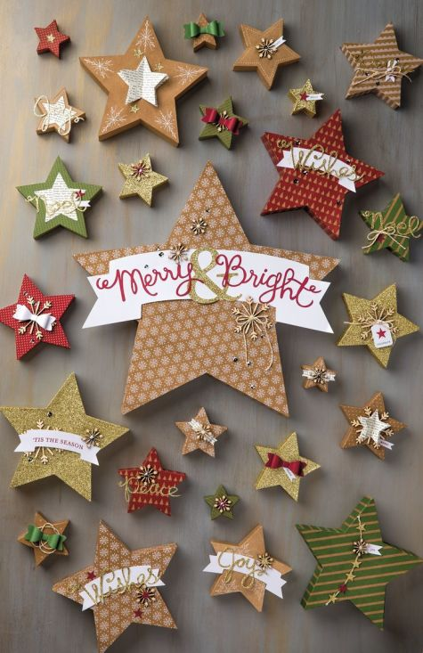Many Merry Stars Simply Created Kit #138104 at Wild West Paper Arts