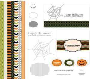 My Digital Studio Spooky Treats Designer Template for MDS #127588 at Wild West Paper Arts