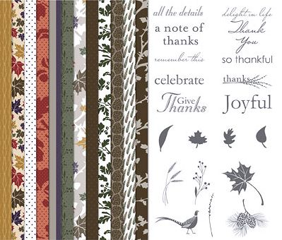 Weekly Deals October 28, 2014 Autumn Traditions for MDS #127600 at WildWestPaperArts.com