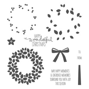 Wondrous Wreath Stamp Set 135047