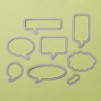 Weeky Deals October 28, 2014  Word Bubbles Frameits Die #132968 at WildWestPaperArts.com