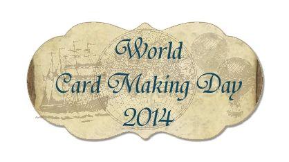 Wild West Pape Arts World Cardmaking Day 2014