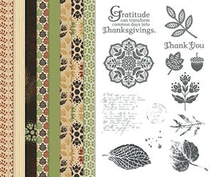 Autumn Spice Digital Kit for MDS #122175 at WildWestPaperArts.com