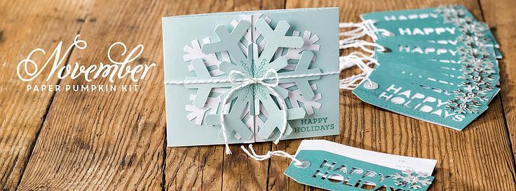 Simply Snowflake November 2014 Paper Pumpkin Kit