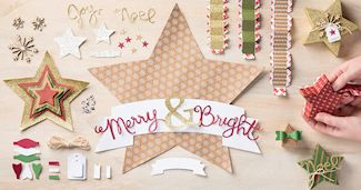 Many Merry Stars Simply Created Kit #138104 at WildWestPaperArts.com