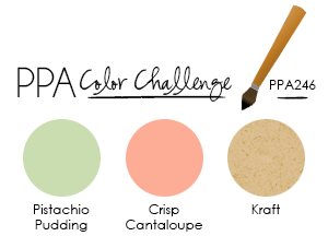 PPA246 Color Challenge at WildWestPaperArts.com