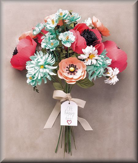 Build a Bouquet for a Special Day at WildWestPaperArts.com