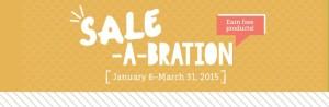 Sale-A-Bration Banner
