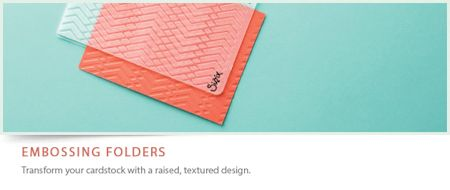 Textured Impressions Embossing Folder Banner