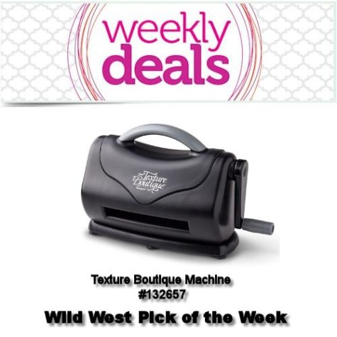 Wild West Pick of the Week at  WildWestPaperArts.com