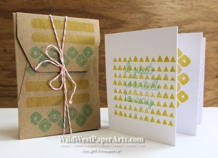 Paper Pumpkin Gratitude at WildWestPaperArts.com