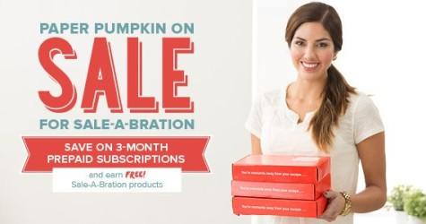 Paper Pumpkin On Sale at WildWestPaperArts.com