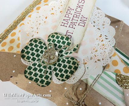 Lucky You Treat Bag Wild West Pick of the Week March 3 2015 at WildWestPaperArts.com