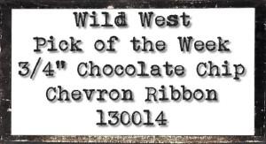Chocolate Chip Pick of the Week at WildWestPaperArts.com