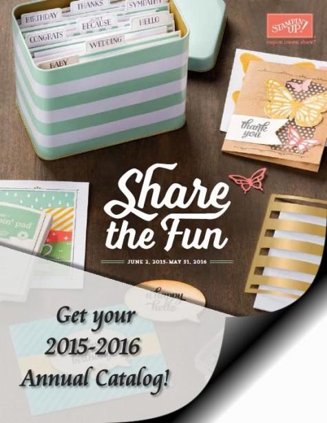 2015-2016 Stampin' Up! Annual Catalog at WildWestPaperArts.com