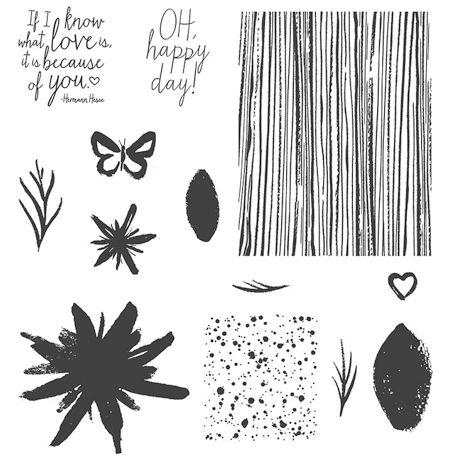 Build a Bouquet Photopolymer Stamp Set 137166 at WildWestPaperArts.com